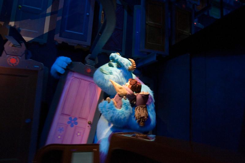 """Boo:  """"Kitty!""""<br /> Sully:  """"Kitty's gotta go..."""""""