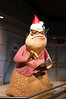 For the holidays, Roz sports a festive hat.