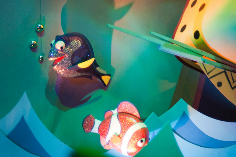 In the South Seas Room, you can find Dory and Marlin.