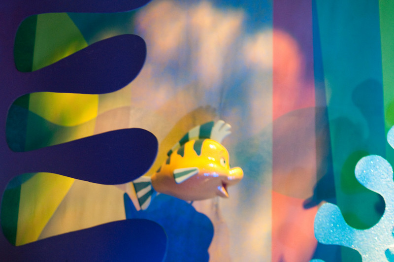 "The South Seas Room also features Flounder from ""The Little Mermaid""."