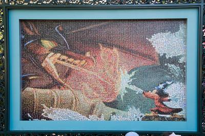 Disneyland's 50th Anniversary Mosaics
