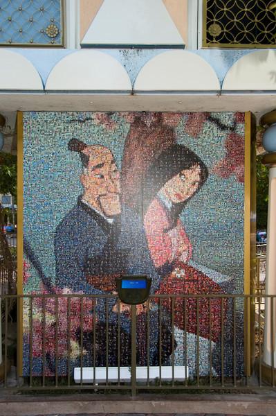 2006-05-16 - Disneyland - 50th Anniversary Mosaic (Mulan) - _DSC0804