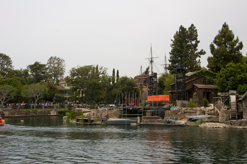 "The screen where they premiered the movie was erected on Tom Sawyer's Island.  Sure, they're calling it ""Pirates Lair"", but it will always be Tom Sawyer's Island to me."