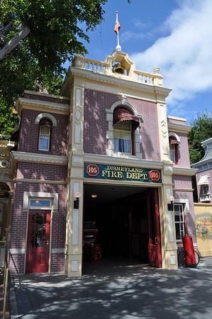 Disneyland Fire Dept & Walt Disney's Apartment