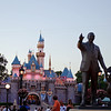 The Partners Statue & Sleepy Beauty's Castle