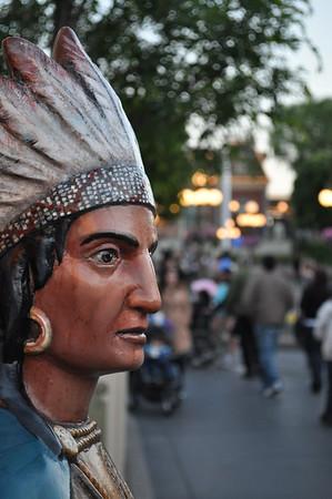 Indian on Main Street USA