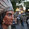 Indian on Main Street USA
