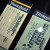 Vintage Disneyland Tickets