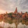 Sunset over Big Thunder Mountain - Arthur