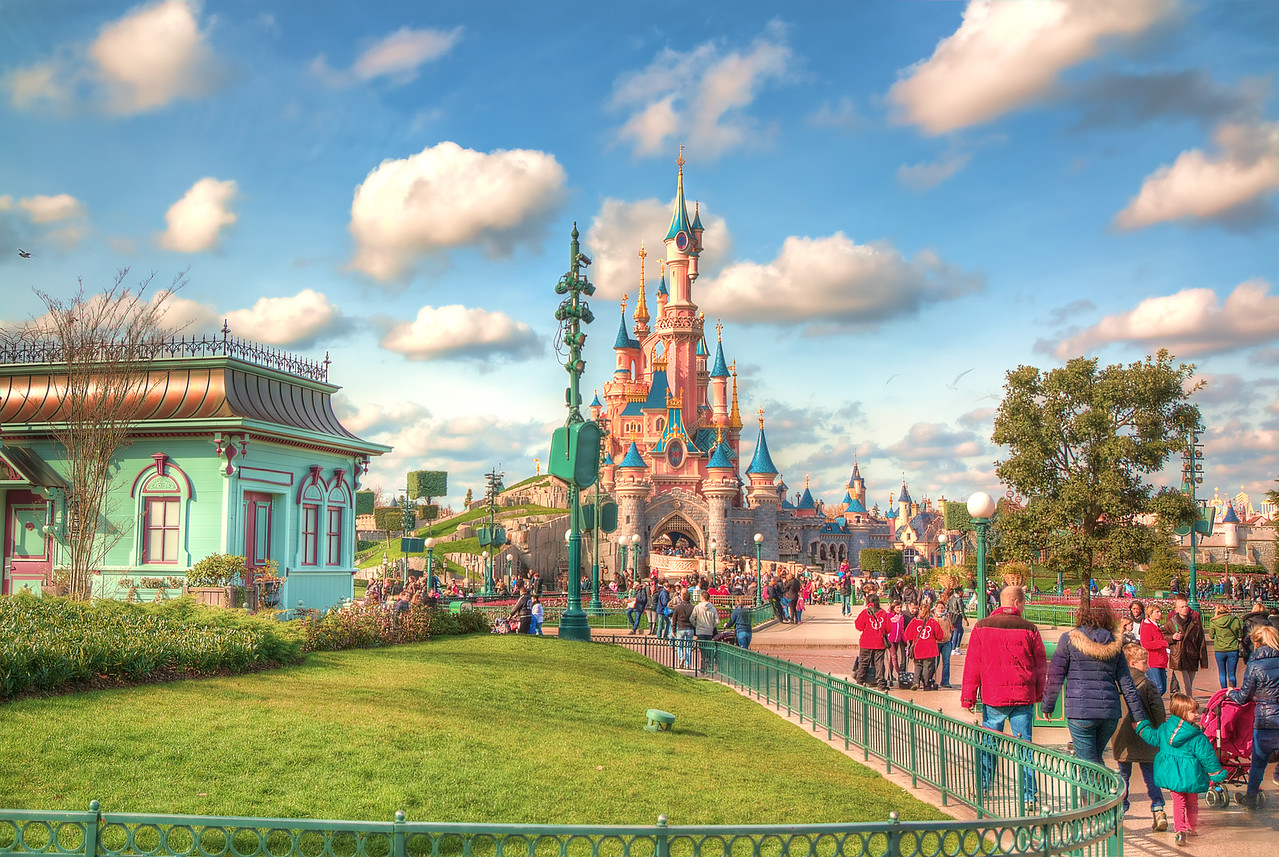 Painterly Disneyland