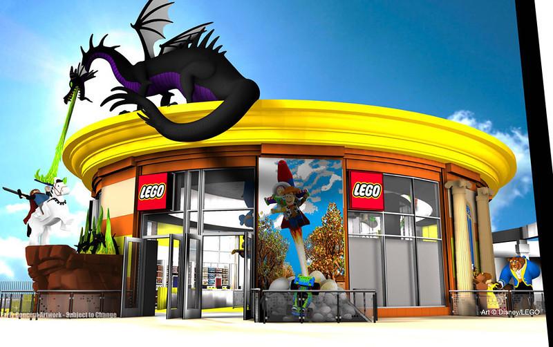 Art © Disney/LEGO