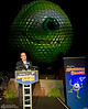 """Spaceship Earth Transforms into """"Monsters University"""" Star Mike Wazowski to Announce All-Night Parties for Disney Parks"""