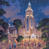 CARTHAY CIRCLE THEATRE DAZZLES (ANAHEIM, Calif.)ÑIn this artist's rendering, Carthay Circle Theatre at Disney California Adventure park is adorned in diamonds to commemorate the Diamond Celebration at the Disneyland Resort. From Sleeping Beauty Castle to Carthay Circle Theatre, the Disneyland Resort and surrounding streets of the Anaheim Resort district will sparkle with Diamond Celebration dŽcor and festive banners in shades of Disneyland blue. Celebrating 60 years of magic, three new nighttime spectaculars will immerse guests in the worlds of Disney stories like never before with the first all-LED parade at the resort; a reinvention of the classic fireworks show that adds projections to transform the park experience; and a moving, new version of 'World of Color' that celebrates Walt DisneyÕs dream for Disneyland. The Diamond Celebration at the Disneyland Resort begins Friday, May 22, 2015.