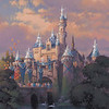 SPARKLING BEAUTY (ANAHEIM, Calif.)— This artist's rendering shows Sleeping Beauty Castle at Disneyland park draped in dazzling diamonds to commemorate the upcoming Diamond Celebration at the Disneyland Resort. From Sleeping Beauty Castle to Carthay Circle Theatre at Disney California Adventure park, the Disneyland Resort and surrounding streets of the Anaheim Resort district will sparkle with Diamond Celebration décor and festive banners in shades of Disneyland blue. Celebrating 60 years of magic, three new nighttime spectaculars will immerse guests in the worlds of Disney stories like never before with the first all-LED parade at the resort; a reinvention of the classic fireworks that adds projections to pyrotechnics to transform the park experience; and a moving, new version of 'World of Color' that celebrates Walt Disney's dream for Disneyland. The Diamond Celebration at the Disneyland Resort begins Friday, May 22, 2015. (Disneyland Resort)
