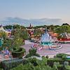 Panorama sur Fantasyland