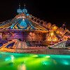 Space Mountain by Night
