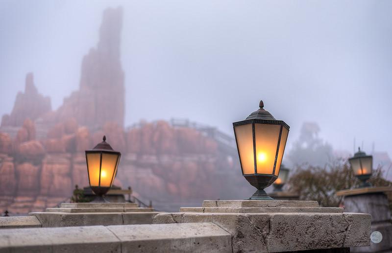 Le brouillard et la Montagne