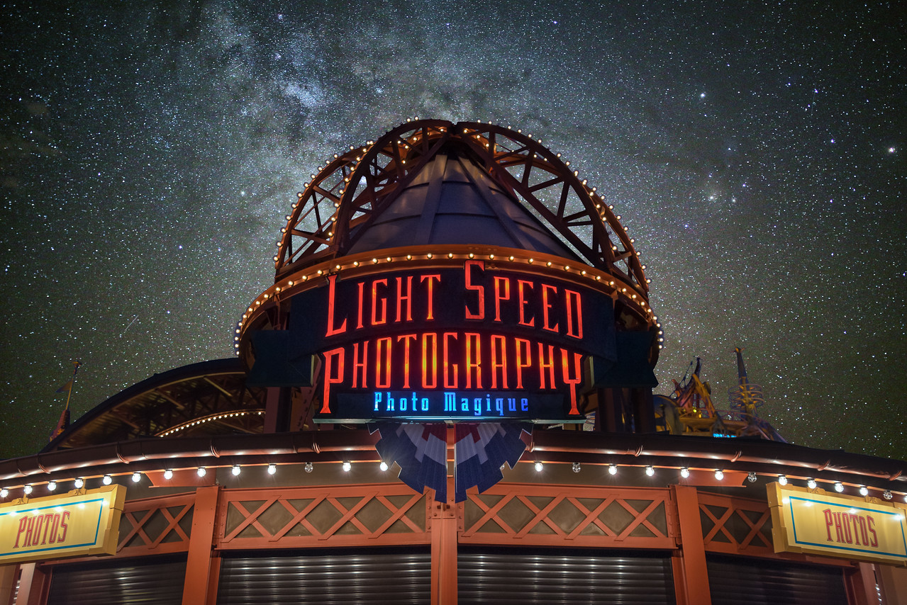Light Speed Photography & Space Mountain