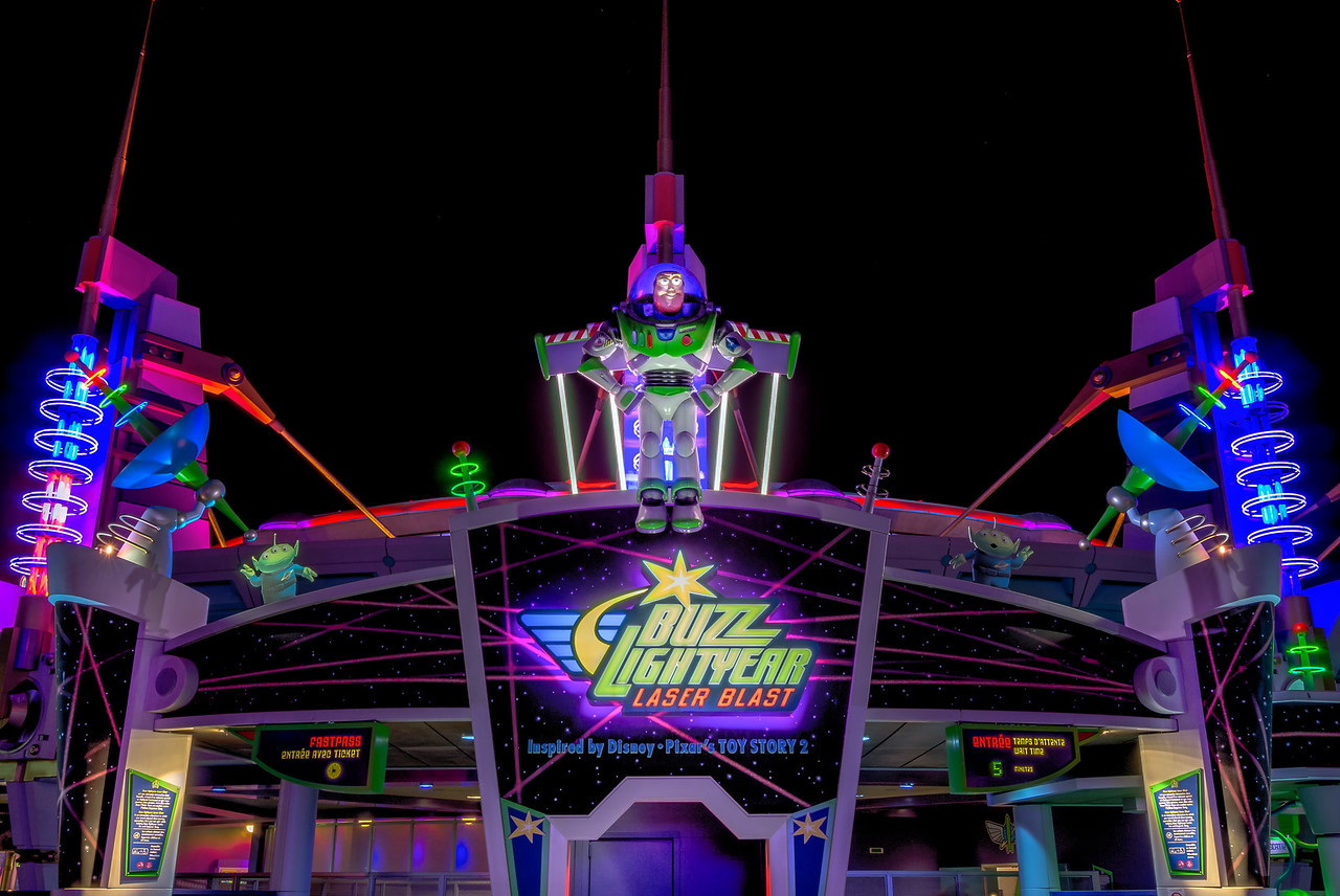 Buzz Lightyear Laser Blast By Night