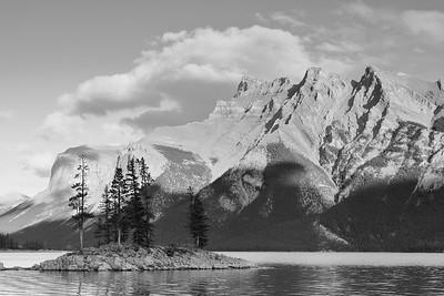 Scenery at Lake Minnewanka,  Banff National Park, Alberta, Canada. © 2019 Kenneth R. Sheide