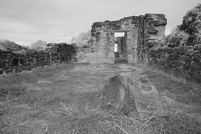 Ruins at Mission Espada, San Antonio, TX. © 2013 Kenneth R. Sheide