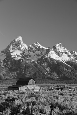 Mormon barn at Grand Teton National Park, WY. © 2013 Kenneth R. Sheide