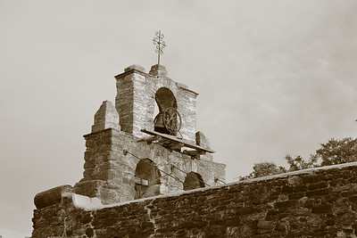 Front facade of Mission Espada, San Antonio, TX. © 2013 Kenneth R. Sheide