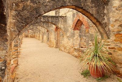 Arches at Mission San Jose, San Antonio, TX. © 2013 Kenneth R. Sheide