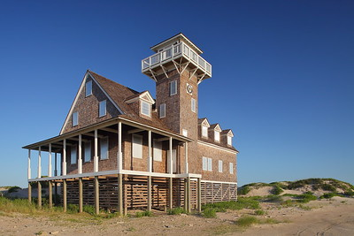Pea Island Life Saving Station, Outer Banks, NC. © 2013 Kenneth R. Sheide