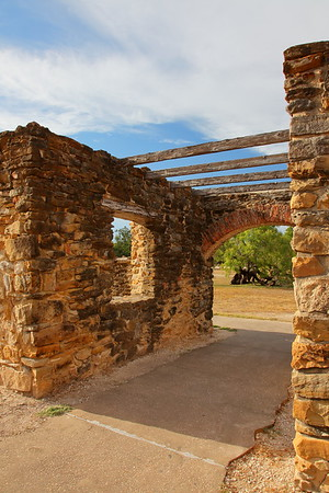 Entrance to Mission Espada, San Antonio, TX. © 2013 Kenneth R. Sheide