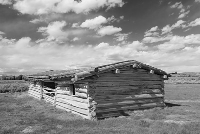 Cunningham cabin, Grand Teton National Park, WY. © 2013 Kenneth R. Sheide