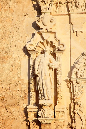 Stonework detail, Mission San Jose, San Antonio, TX. © 2013 Kenneth R. Sheide