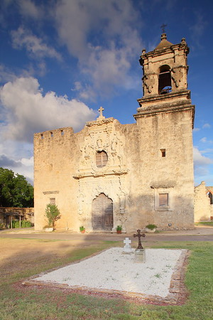 Front facade of Mission San Jose, San Antonio, TX. © 2013 Kenneth R. Sheide
