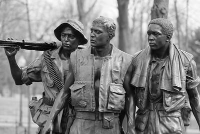 Three Soldiers statue, Washington DC. © 2014 Kenneth R. Sheide