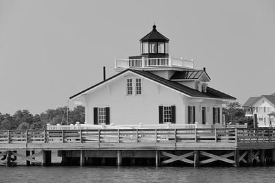 Roanoke Marshes Lighthouse, Manteo, NC. © 2014 Kenneth R. Sheide