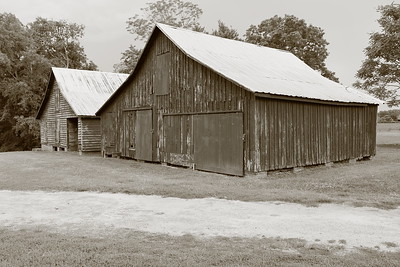 Old barns, Windsor Castle, Smithfield, VA. © 2014 Kenneth R. Sheide