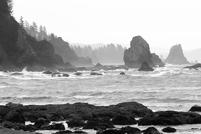Third Beach, Olympic National Park, WA. © 2006 Kenneth R. Sheide