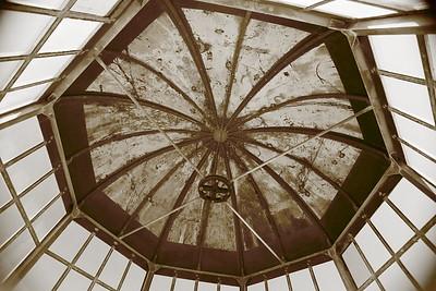 Roof of Old Cape Henry Lighthouse, VA. © 2013 Kenneth R. Sheide