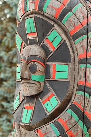 Totem pole, Duncan, BC. © 2012 Kenneth R. Sheide