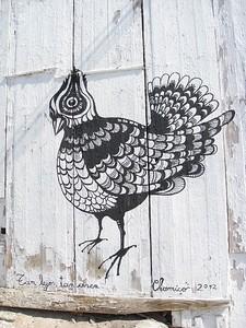 Graffiti on wall at Arica, Chile. © 2012 Kenneth R. Sheide