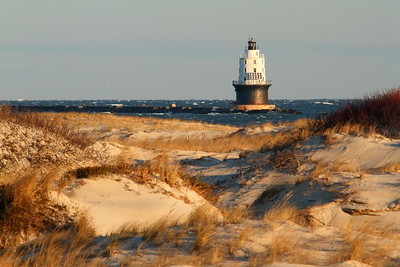 The Harbor of Refuge Lighthouse at the entrance to the Delaware Bay. Cape Henlopen, DE. © 2011 Kenneth R. Sheide