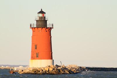 The Delaware Breakwater East End Lighthouse in the morning at Cape Henlopen, DE. © 2011 Kenneth R. Sheide