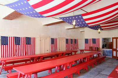 Mess hall, Fort Delaware, DE. © 2014 Kenneth R. Sheide