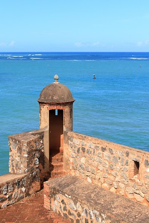 San Felipe Fort in Puerto Plata, Dominican Republic. © 2006 Kenneth R. Sheide