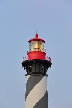 Dawn view of St Augustine Lighthouse, St Augustine, FL. © 2021 Kenneth R. Sheide