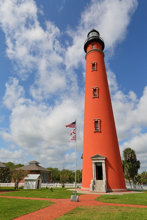 Ponce de Leon (formerly Mosquito) Inlet Lighthouse, Ponce Inlet, FL. © 2021 Kenneth R. Sheide