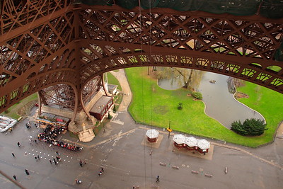 Under the Eiffel Tower, Paris, France. © 2005 Kenneth R. Sheide