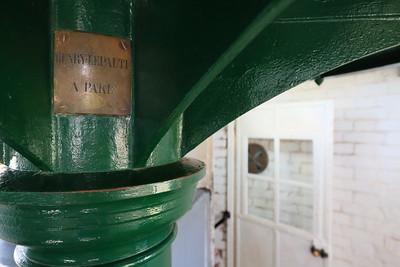 Base of lens in Tybee Island Lighthouse, Tybee Island, GA. © 2021 Kenneth R. Sheide