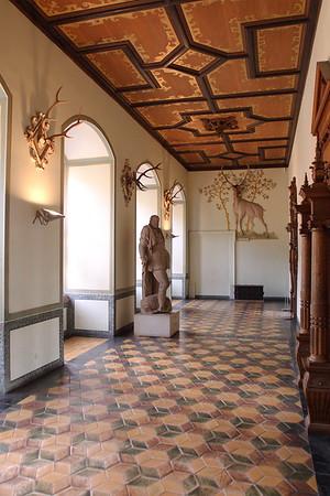 Interior of Heidelberg Castle, Heidelberg, Germany. © 2004 Kenneth R. Sheide