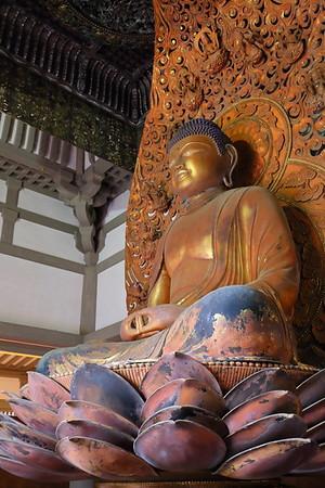 Buddha at Byodo-In Temple. © 2019 Kenneth R. Sheide